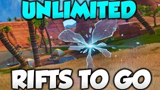 UNLIMITED RIFTS TO GO GLITCH! - Fortnite Season 6 Glitches Xbox/PS4!