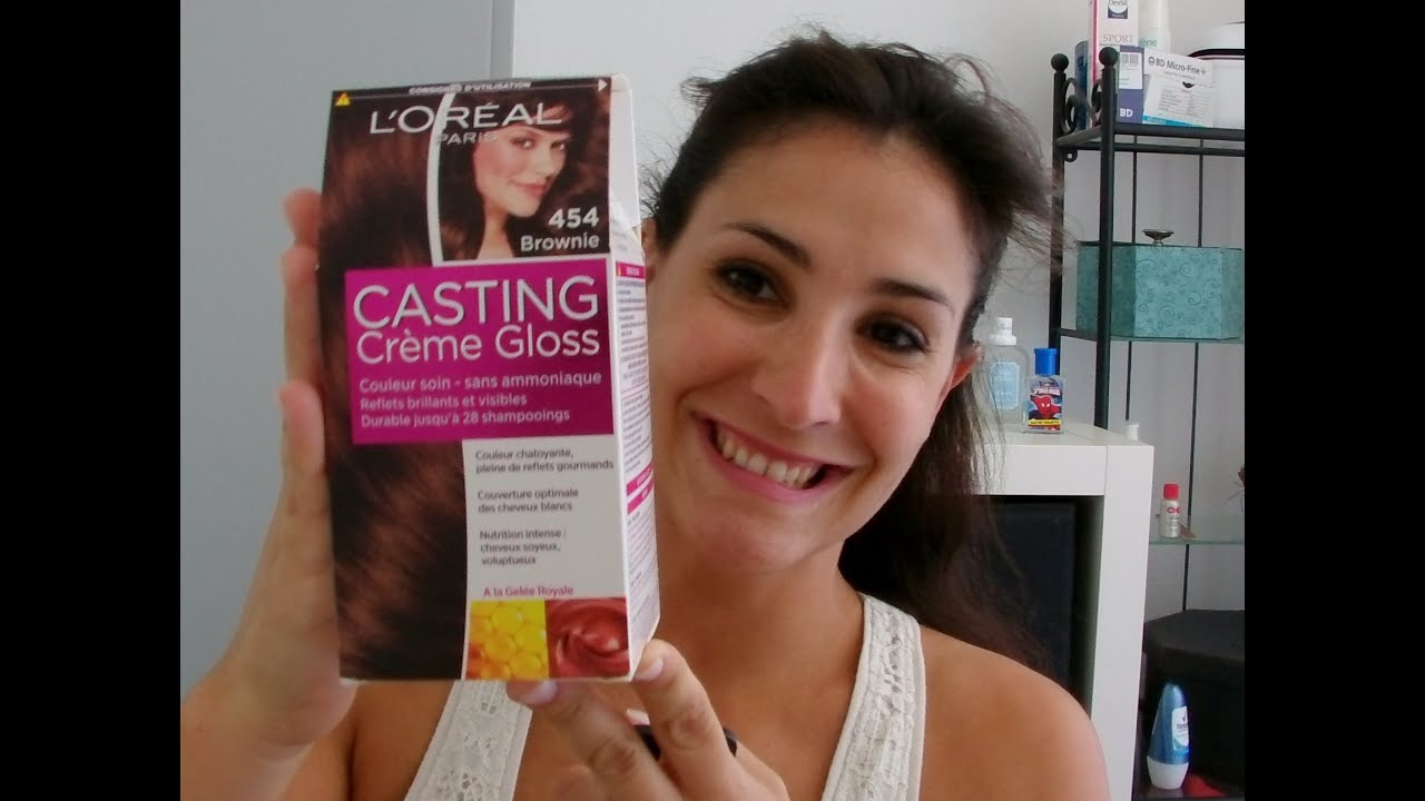 casting crme gloss n454 loral lady marjo - Coloration Chocolat Caramel
