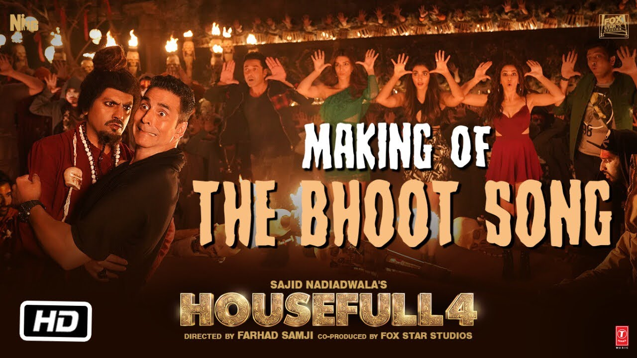 Housefull 4: The Bhoot Song Making | Akshay Kumar, Nawazuddin Siddiqui | Mika Singh, Farhad Samji