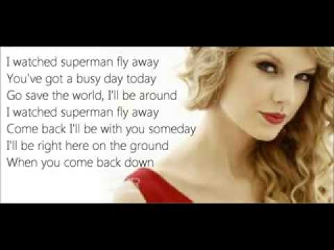 Superman   Taylor Swift Lyrics