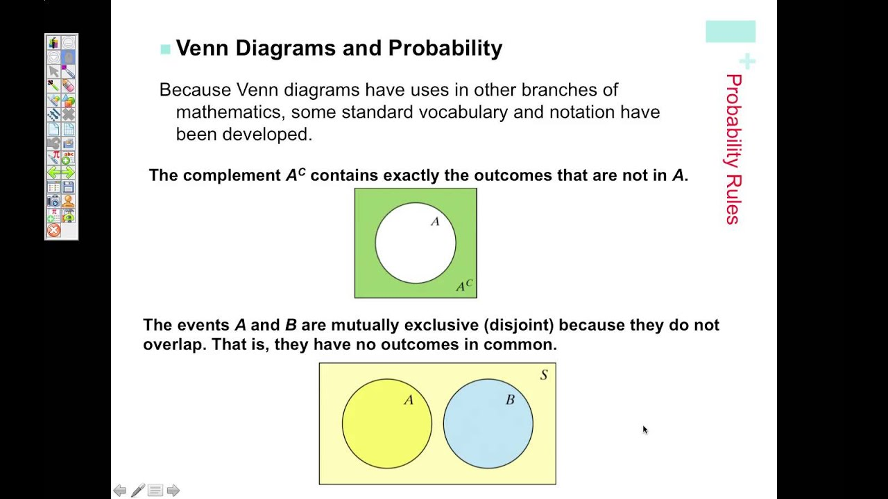 Two way tables venn diagrams probability youtube two way tables venn diagrams probability pooptronica Choice Image