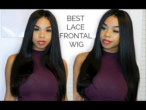 BEST LACE FRONTAL WIG FOR BEGINNERS (No glue, no tape, no sew in) VIRGO HAIR COMPANY|MEG OLIVIA
