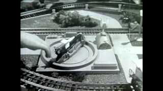 Classic Lionel Train Commercial - A Cold War era Toy Train Set