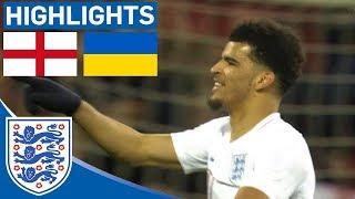 England U21 2-1 Ukraine U21 | Official Highlights | Solanke Scores Late Winner!