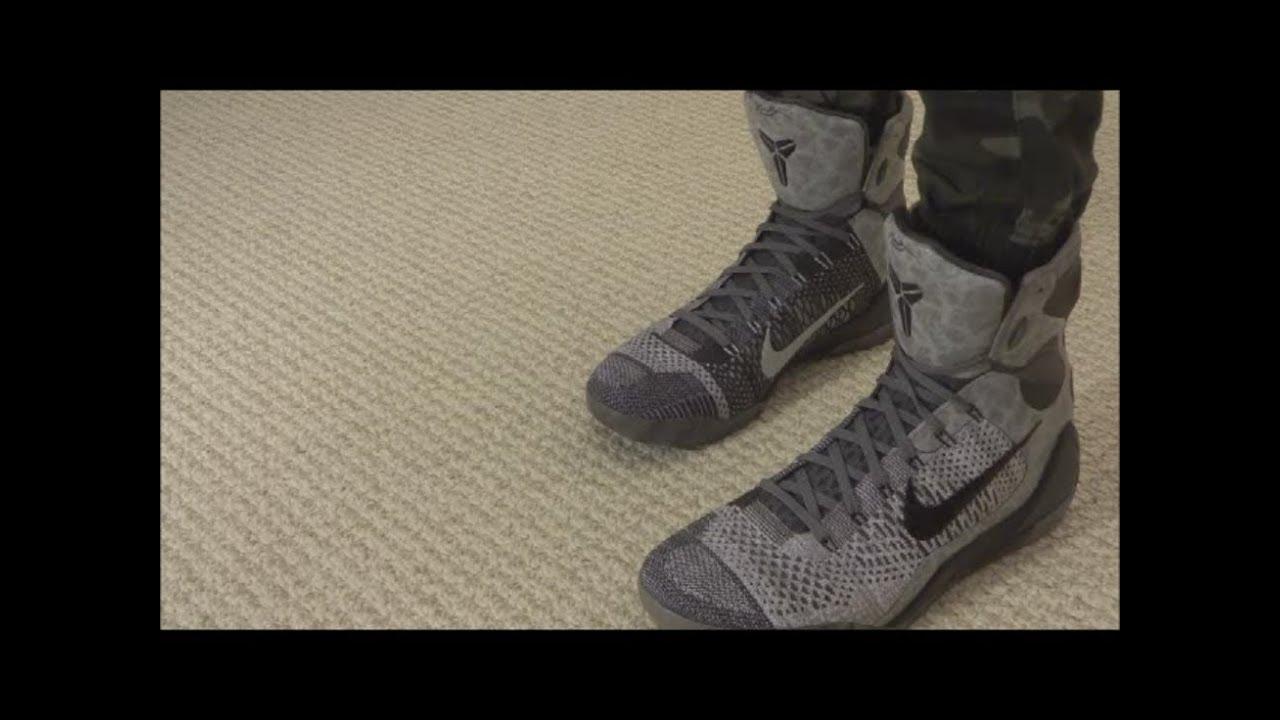 best service 47012 e242b Nike Kobe 9 Elite Detail - On Foot Review