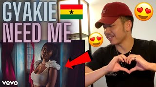 Gyakie - NEED ME (Official Music Video) AMERICAN REACTION! Ghana Music 🇬🇭❤️