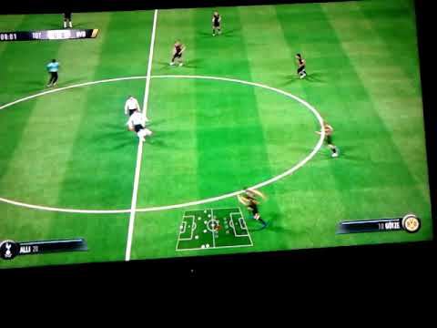 Fifa  19 Mecz   1/8 Ligi Mistrzów       Tottenham Hotspur F.C.vs  Borussia Dortmund 1: 8