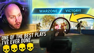 ONE OF THE BEST WARZONE PLAYS I'VE EVER MADE FT. DRLUPO JORDANFISHERGAMING & CLOAKZY