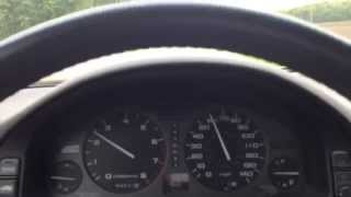 Acura Legend 60-0 mph Brake Test