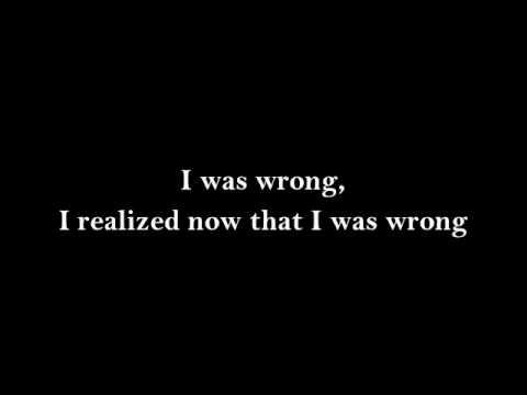 I Was Wrong- Social Distortion