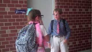 "One of the 7th Grade Skits, ""The New Kid!"""