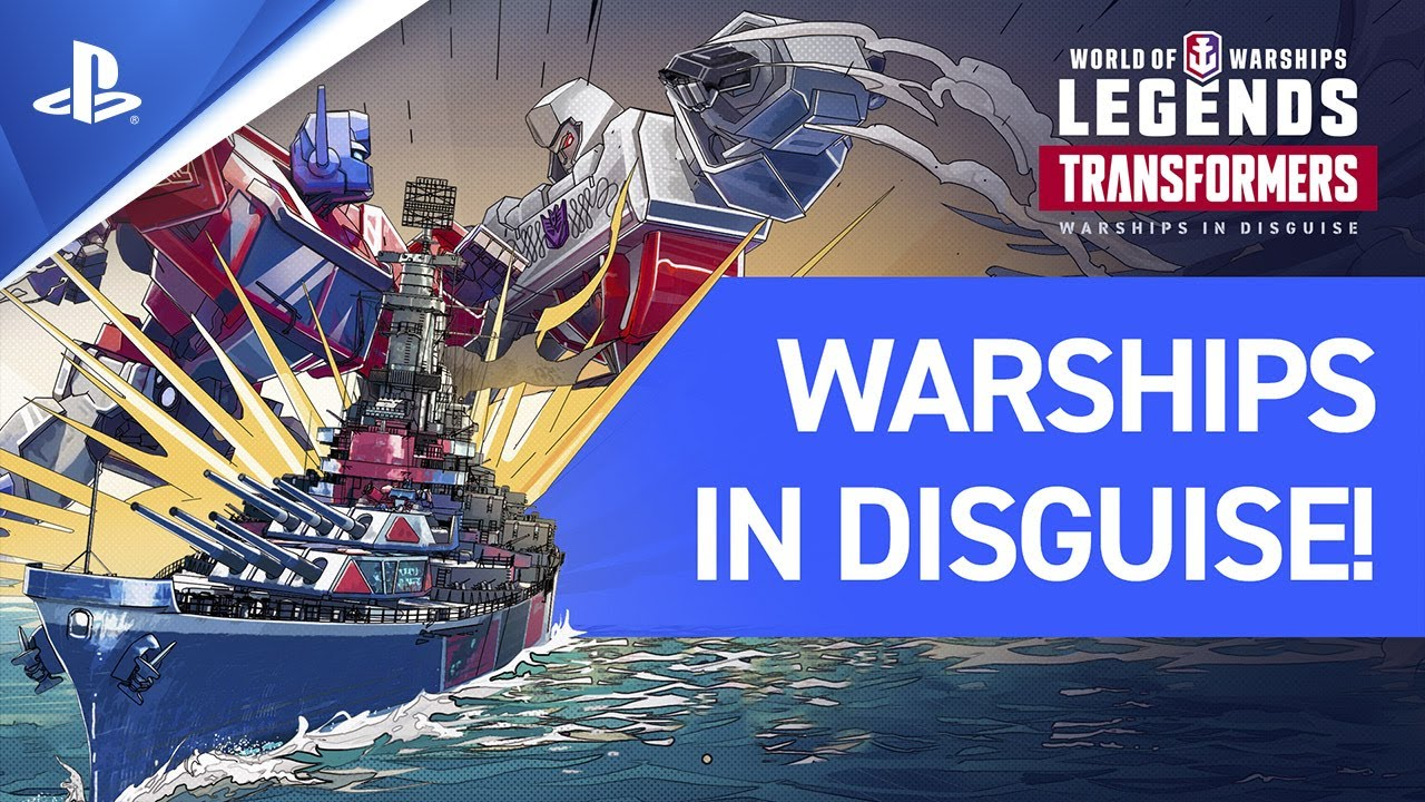 World of Warships: Legends | Transformers Trailer | PS4