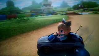 Mario Kart 8 Deluxe VS RACE 200cc Baby Rosalina SMK Donut Plains 3