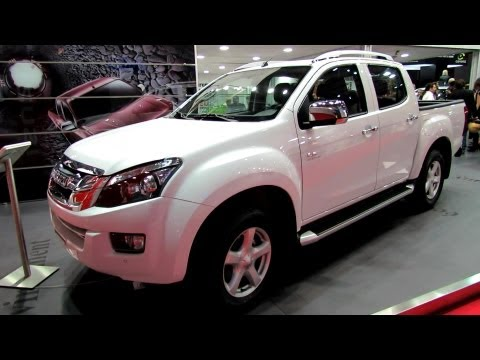 2013 Isuzu D-Max Quasar - Exterior and Interior Walkaround - 2012 Paris Auto Show Travel Video