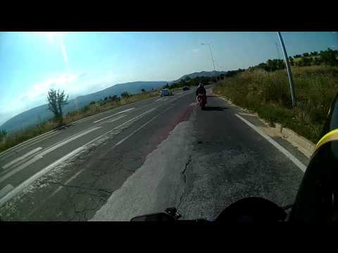 Veles-Skopje aggressive riding