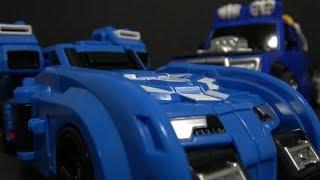 헬로카봇 럭키펀치와 미니특공대X 볼트봇 장난감 변신 Hello Carbot Miniforce X Blue Robot Toys