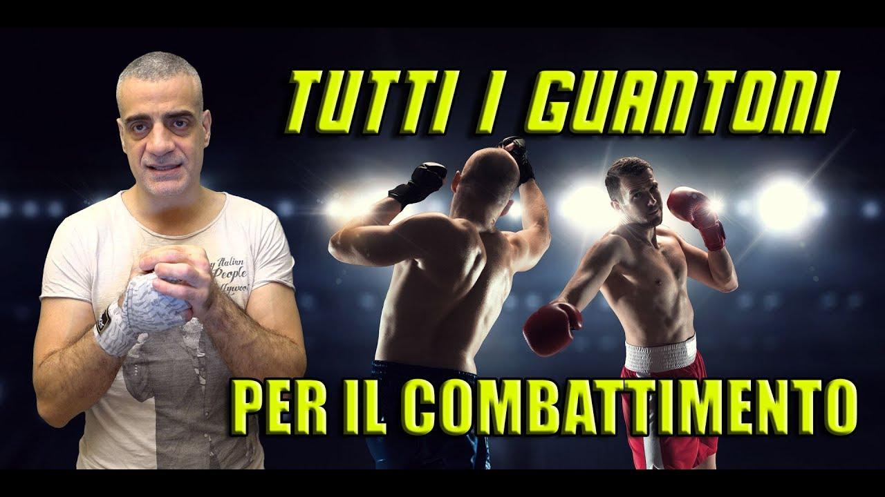 Tutti i guantoni per boxe, kickboxing, muay thai e sport da combattimento