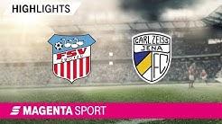 FSV Zwickau - FC Carl Zeiss Jena | Spieltag 4, 19/20 | MAGENTA SPORT