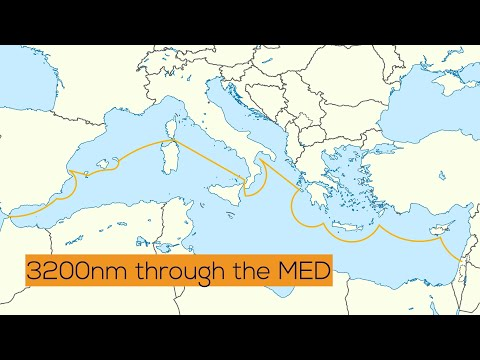 Sailing from Israel to Gibraltar: Crossing 3.200nm through the whole Mediterranean Sea Ep.37
