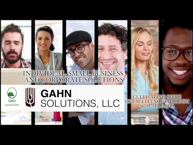 GAHN SOLUTIONS | BPO Solutions through KPO Excellence