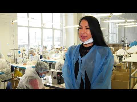 ТРК ВіККА: П'ять тисяч комплектів за день: компанія «Венето» запустила масовий пошив захисту для медиків
