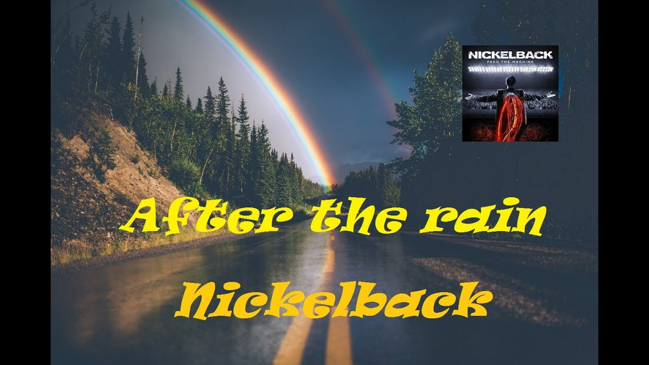 Nickelback After The Rain Cover 2 Guitars Chords And Tabs Youtube