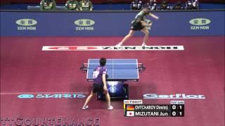 WTTTC: Jun Mizutani-Dimitrij Ovtcharov