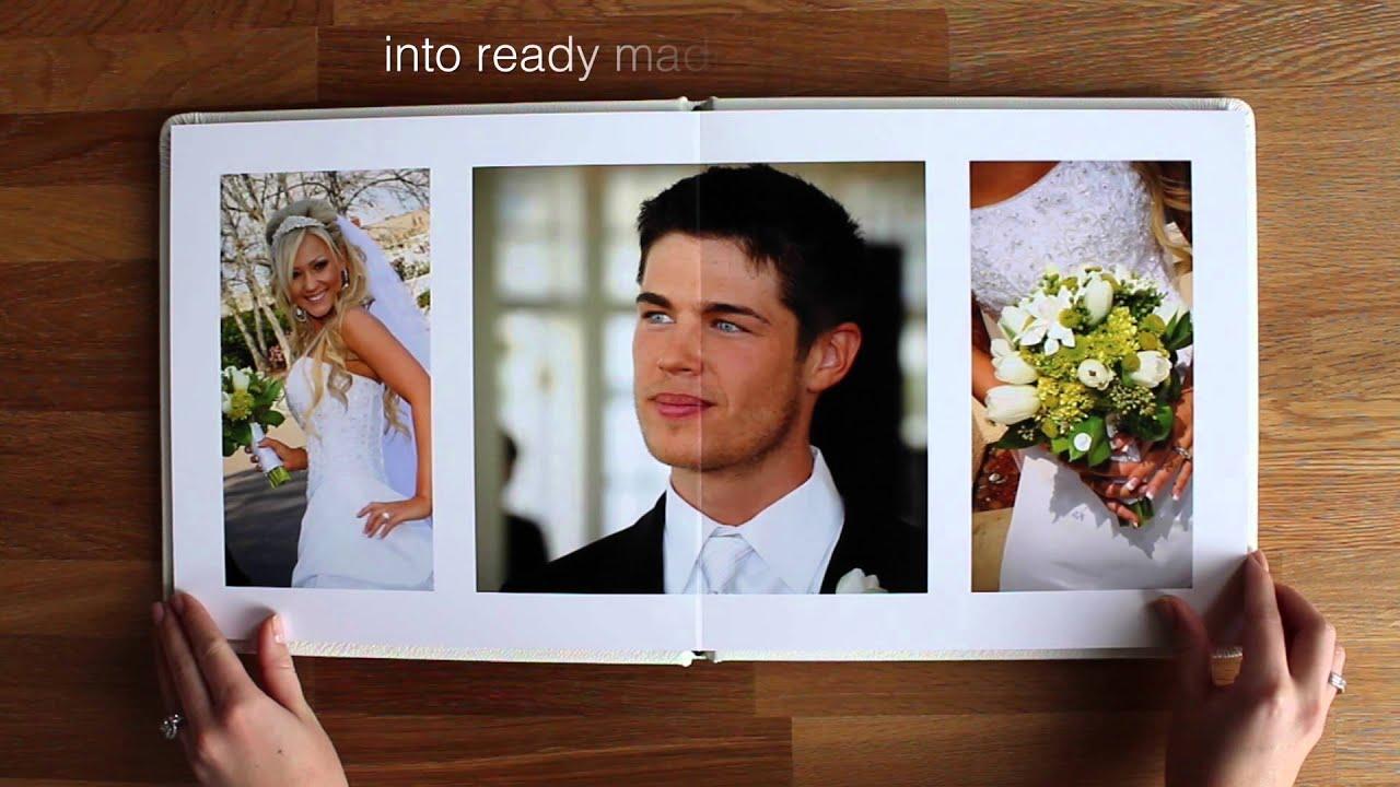 Wedding Photo Albums Flush Mount Album Youtube