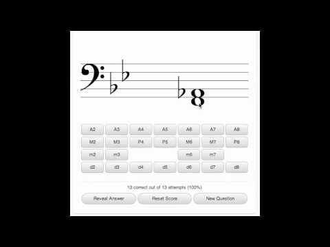 Lecture 2 Extra 2 -  Interval Identification (Coursera - Fundamentals of Music Theory 14)