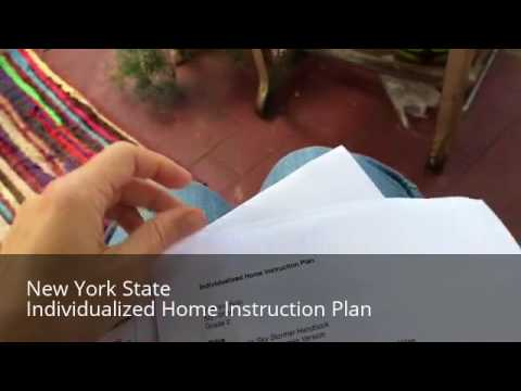 New York State Individualized Home Instruction Plan Ihip Youtube
