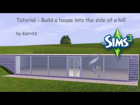 Tutorial Building Into The Side Of A Hill Or Slope You
