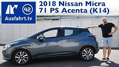2018 Nissan Micra Acenta 71 PS 5MT (K14) - Kaufberatung, Test, Review
