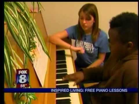 HPU Students Offer Music Lessons to Local Kids | Best North Carolina Colleges