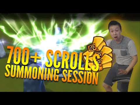 CRAZY 700+ Scroll Summoning Session! Insane Rates!!! - Summoners War - July Stream