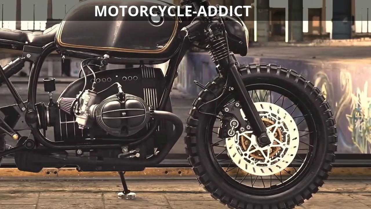 bmw r100 cafe racer scrambler motorcycle youtube. Black Bedroom Furniture Sets. Home Design Ideas