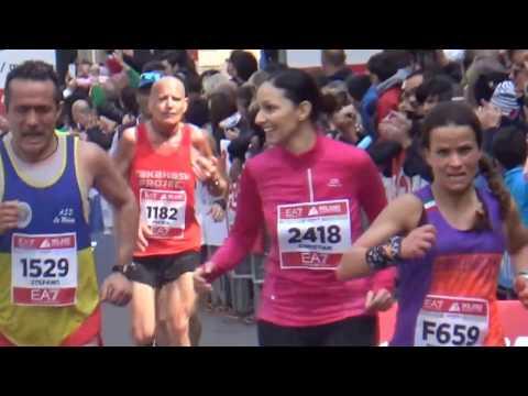 Tutti con  Christian alla  Milano Marathon 2017
