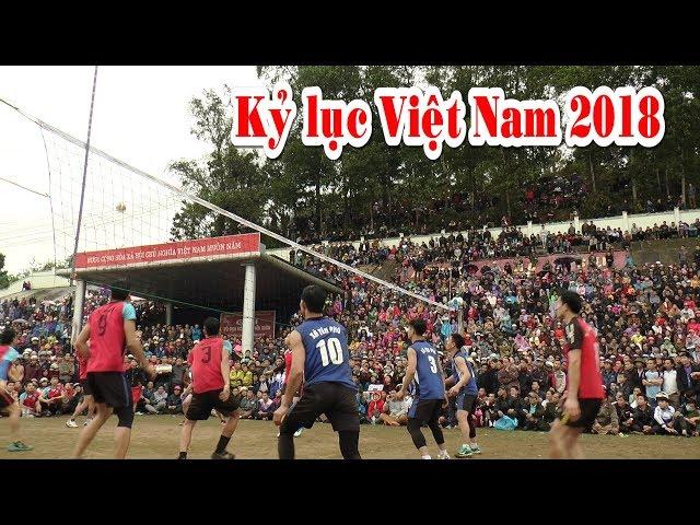 Trận bóng chuyền có một không hai của thể thao Việt Nam 2018