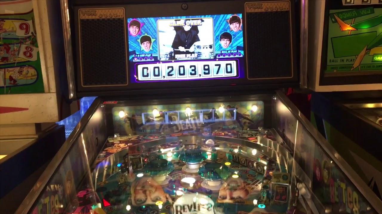 The Beatles pinball - VPX reupload by Bambi Plattfuss