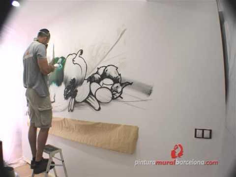 Mural bodeg n art stico en cocina artist still life - Murales para cocina ...