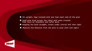 CE2M9V9 - Tests physiques - Rotation du tronc en position assise