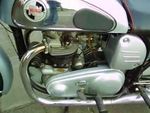 1958 Norton Dominator 500cc Wide Frame Model Unrestored just pampered