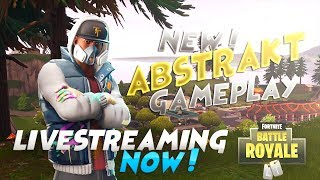 New Abstrakt Skin Gameplay | Fortnite Live Stream | Battle Royal