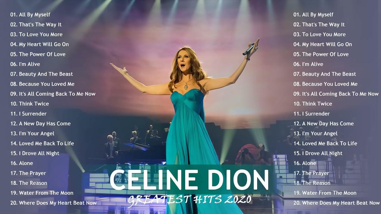 Download Celine Dion Greatest Hits Full Album Live 2021 - Best Of Celine Dion 2021