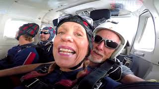 Kristine Stone's Tandem skydive!