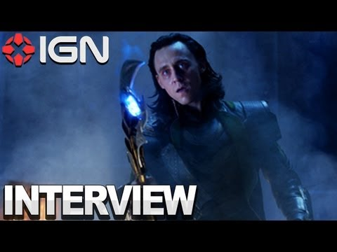 The Avengers - Joss Whedon & Tom Hiddleston Interview