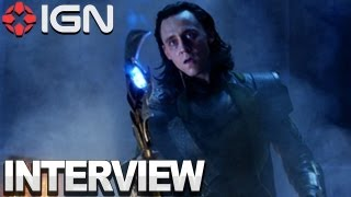 The Avengers - Joss Whedon & Tom Hiddleston Interview
