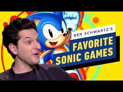 Sonic Actor's Favorite Sonic Games