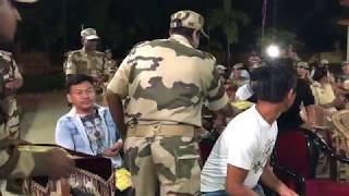 My first Hindi concert for the CISF Jawans (Vlog)
