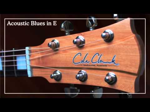 Simple Acoustic Blues in E: Backing Track