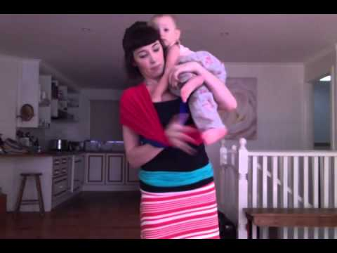 How To Make Your Own Baby Carrier Keep Calm And Carry Them Youtube